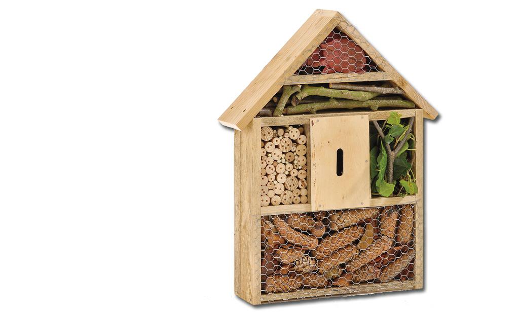 Bauplan: Insektenhotel selber bauen
