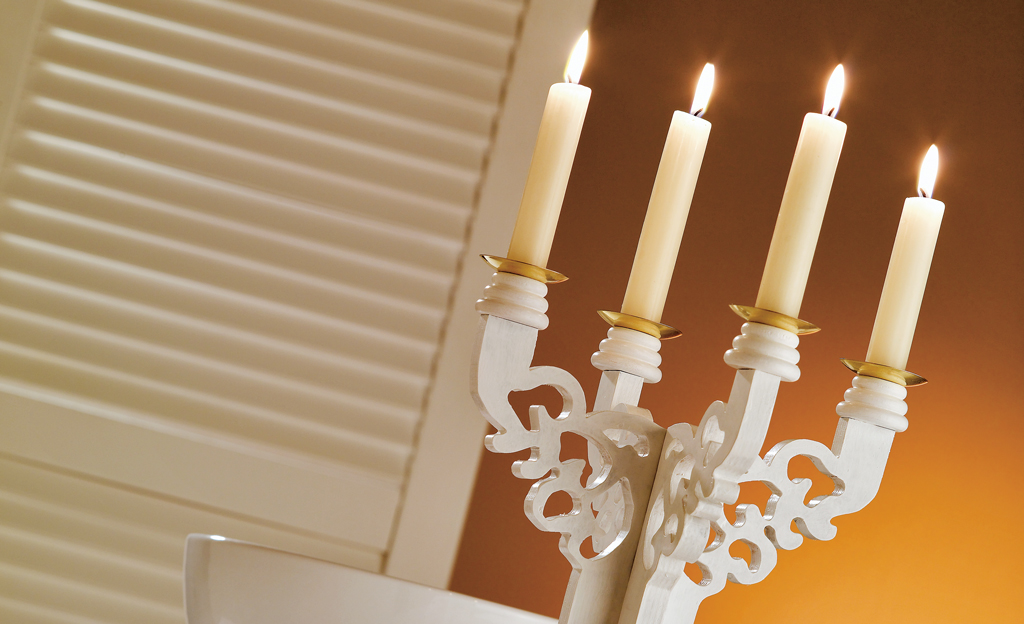 Kerzenständer bauen