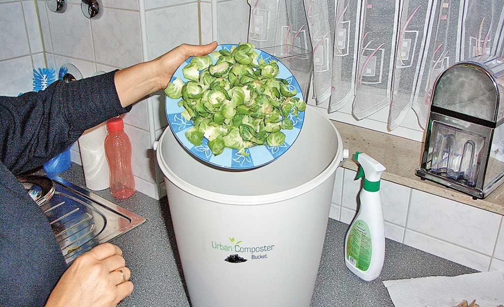 Komposter für die Küche