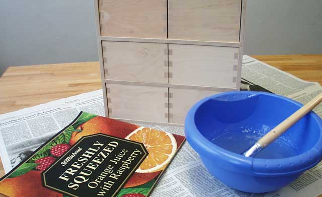Tee- und Gewürzregal selbst bauen