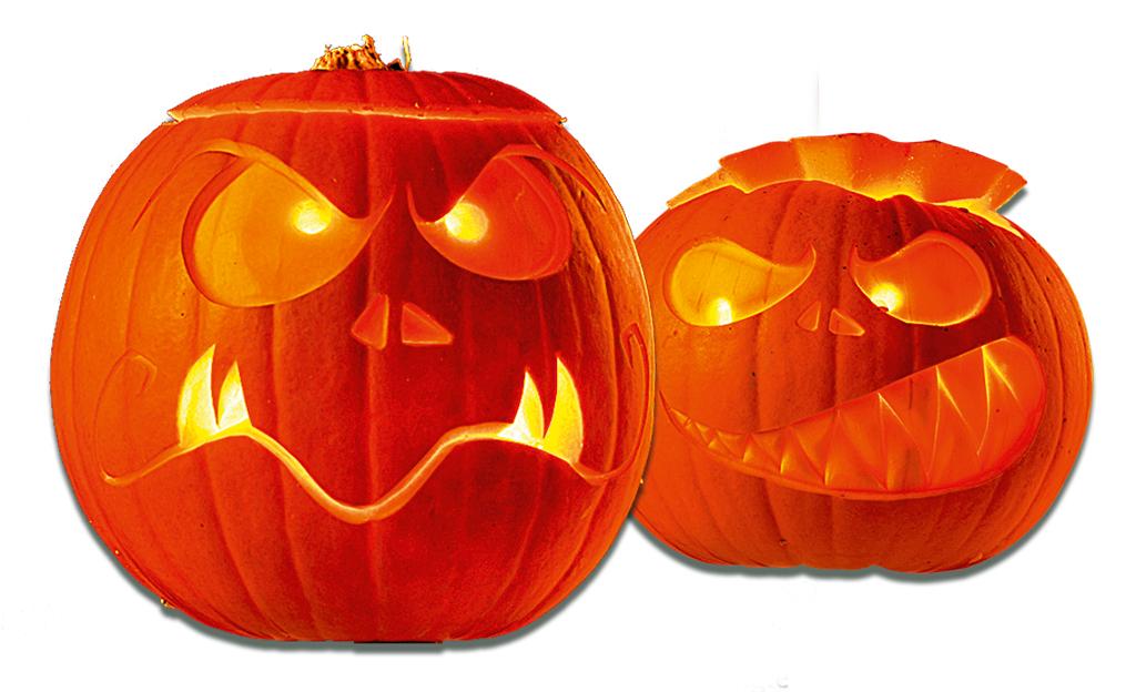 halloween gruselk rbisse basteln basteln. Black Bedroom Furniture Sets. Home Design Ideas