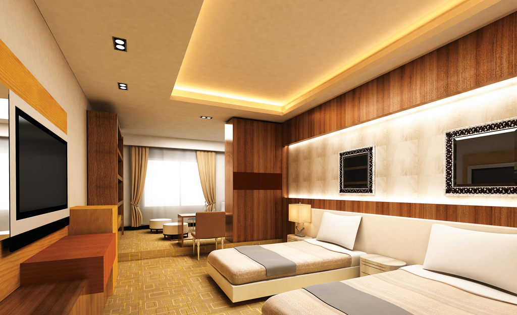 Deckenbeleuchtung mit LED