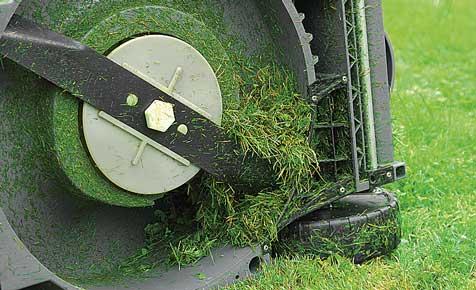 Rasenmähermesser schärfen