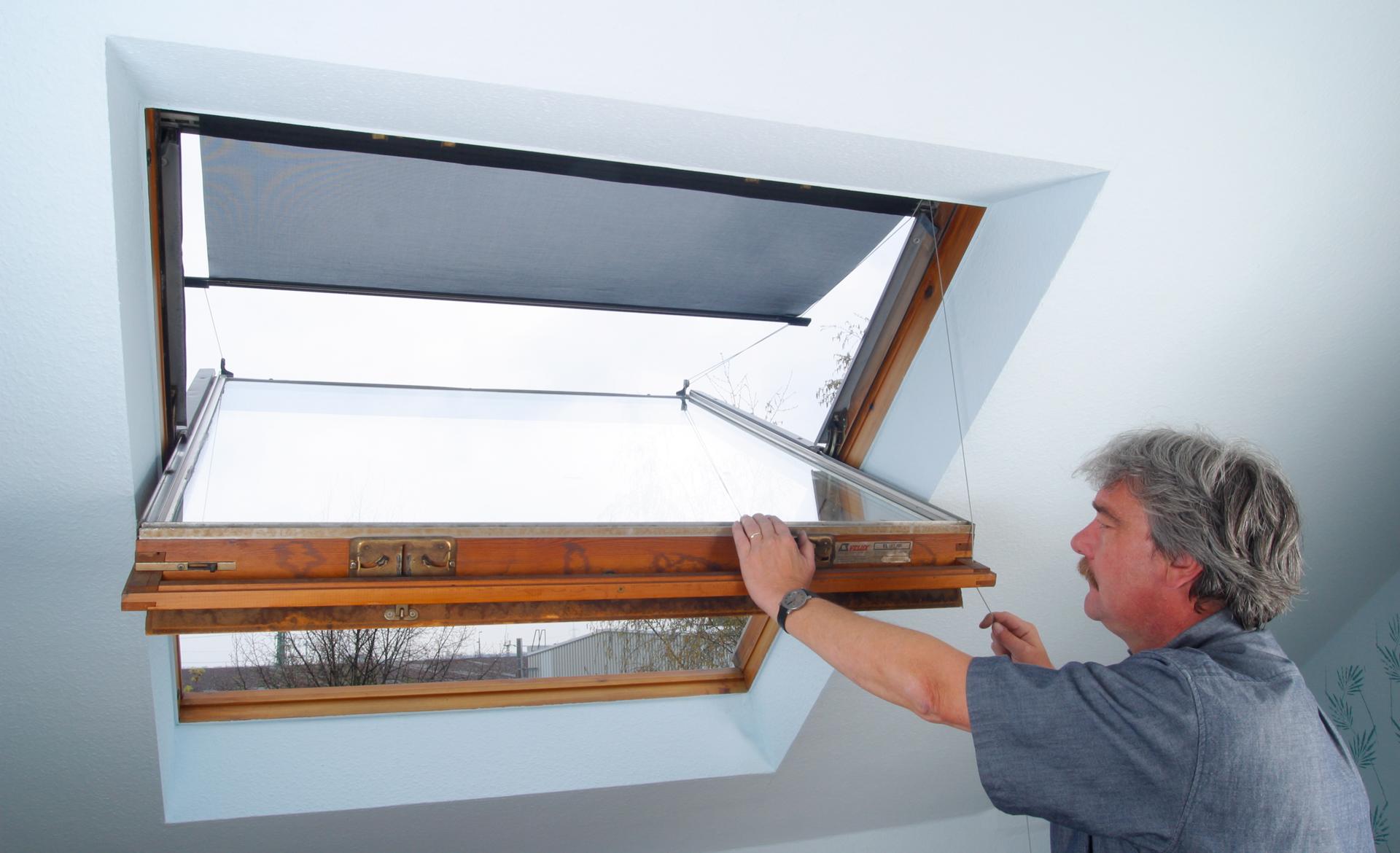 Außenmarkise für Dachflächenfenster
