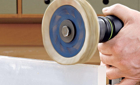 Acrylglaskanten fachgerecht polieren