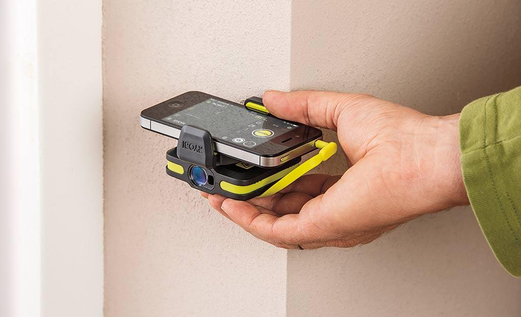 Laser-Entfernungsmesser fürs Smartphone