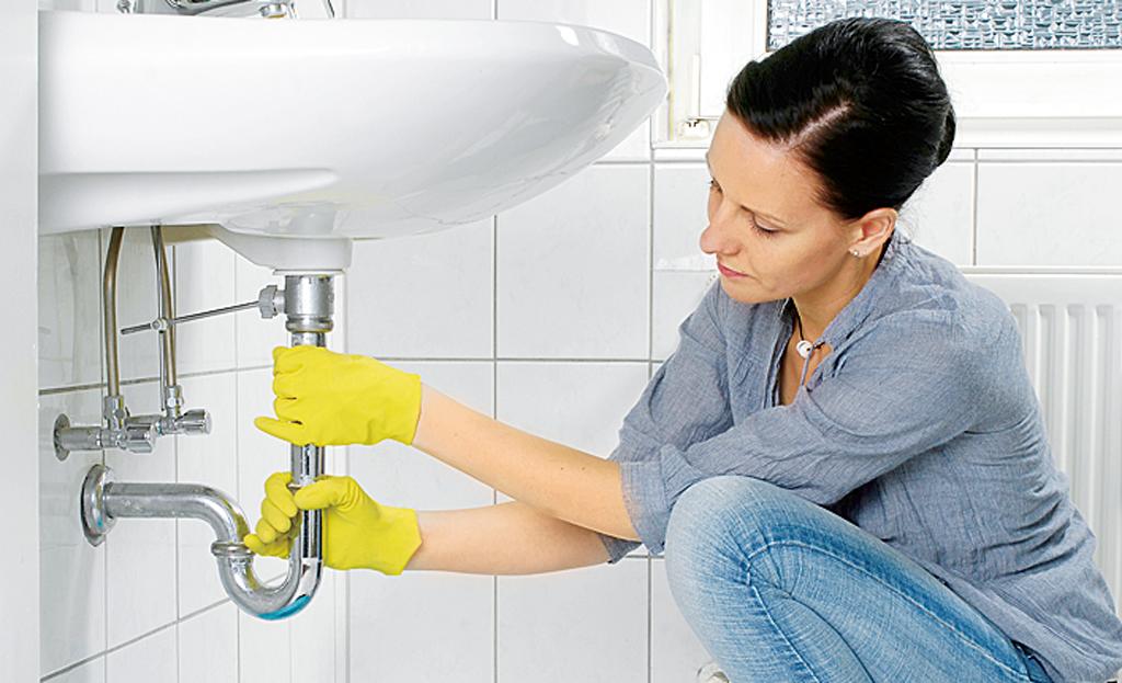 Siphon: Abfluss reinigen
