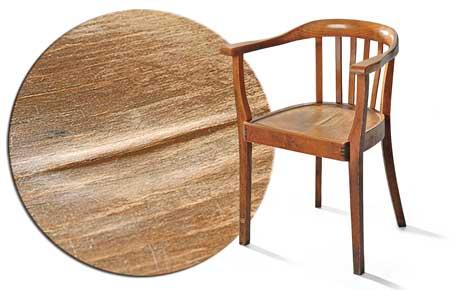 Sitzfurnier reparieren