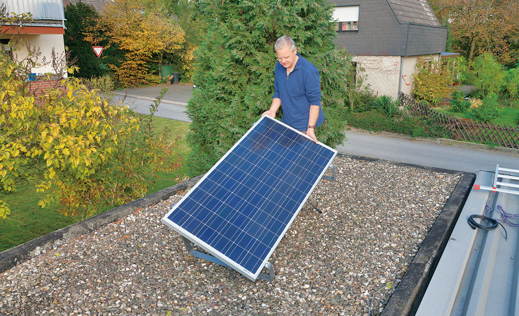 Solarmodul selbst montieren