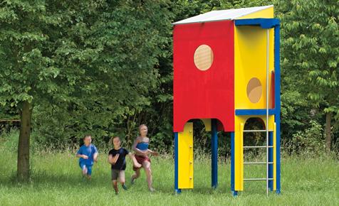 Bauplan: Spielhaus bauen