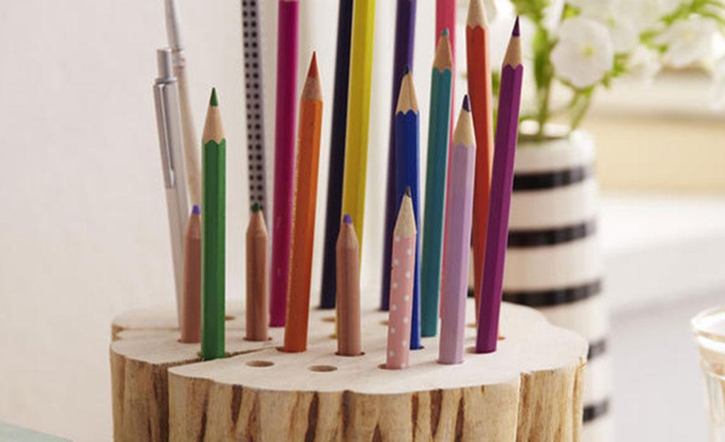 Stifthalter basteln