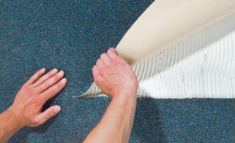 Teppichboden verlegen
