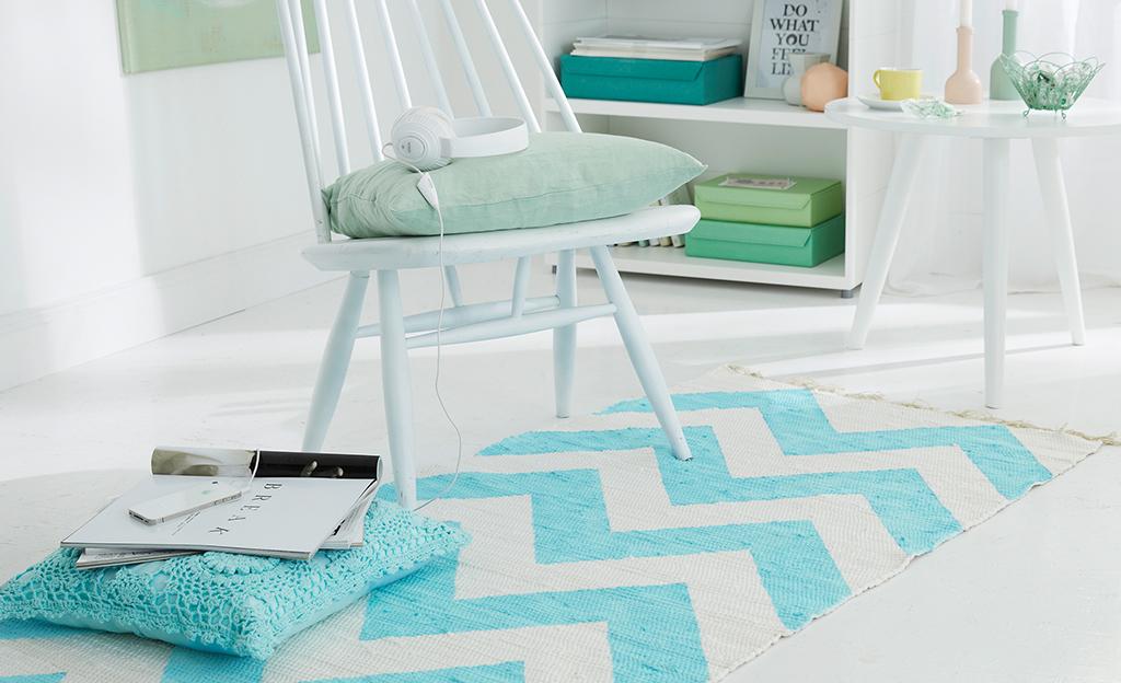 Teppich verzieren