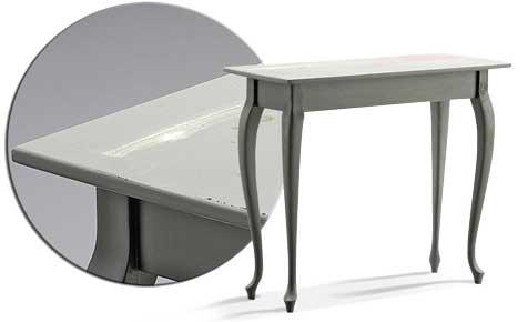 Tisch abschleifen & lackieren