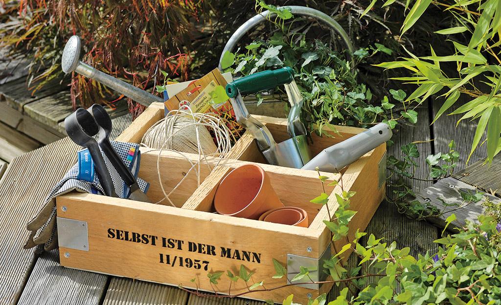 Aufbewahrungsbox für den Garten