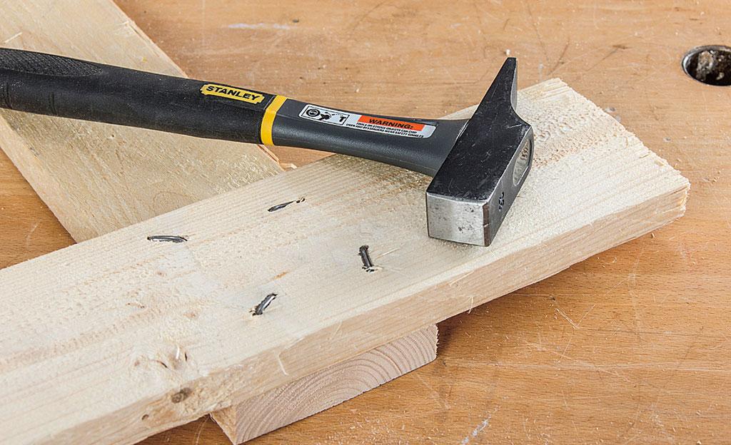 Holzverbindung durchnageln | selbst.de