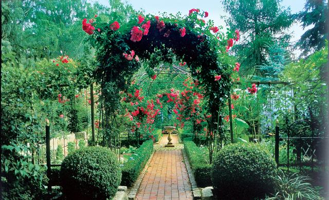 Gartenwege und Treppen anlegen
