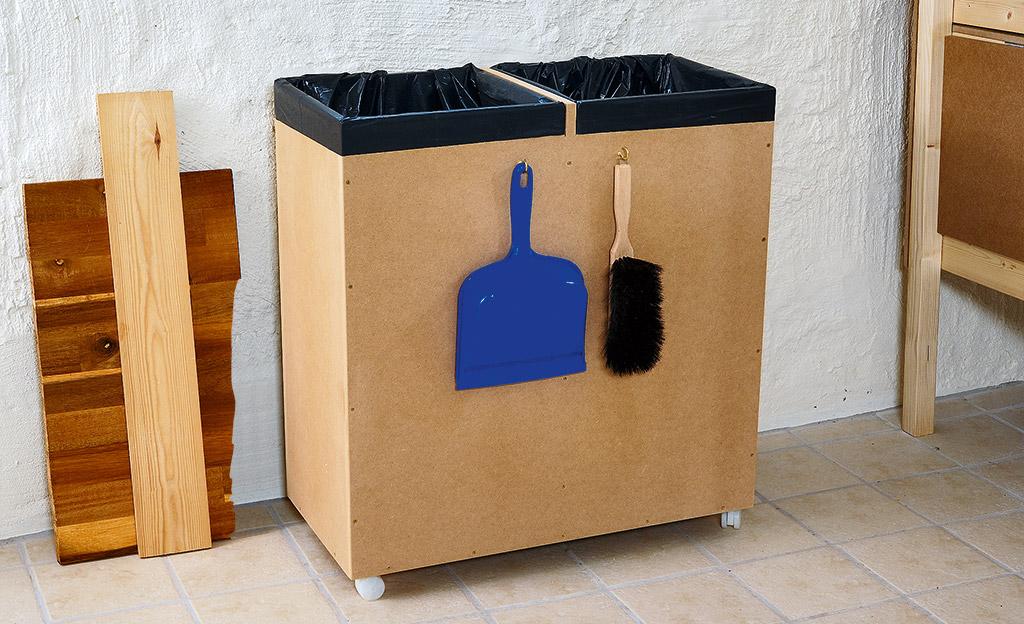 Müllbox bauen
