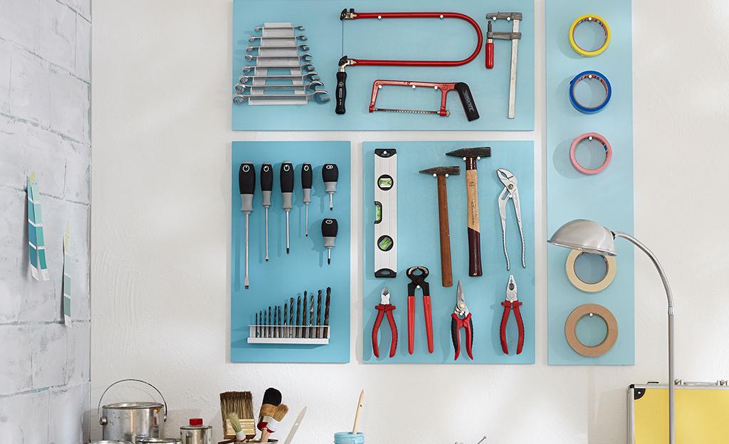 Werkzeugaufbewahrung mal anders