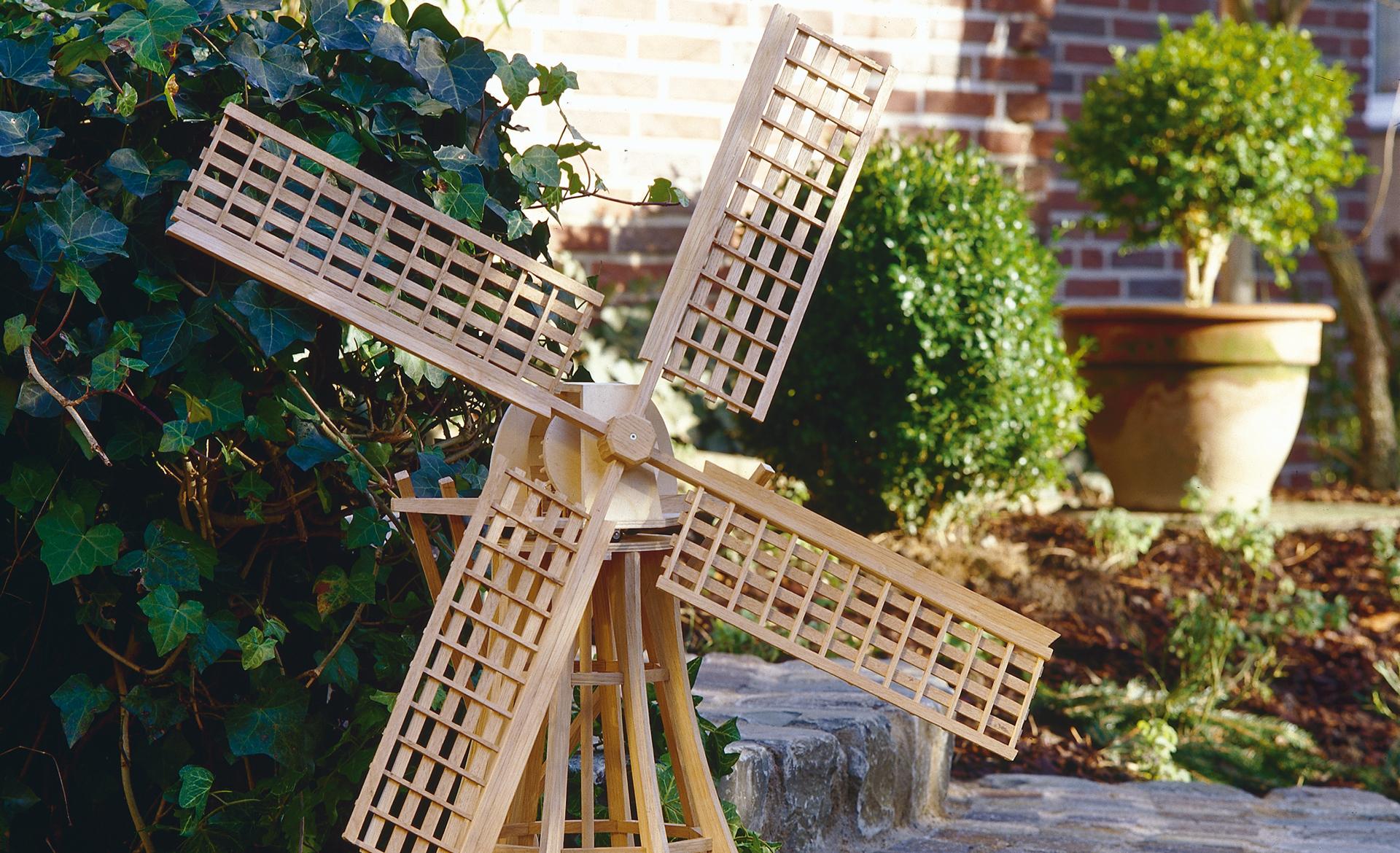 Bauplan: Fachwerk-Windmühle bauen