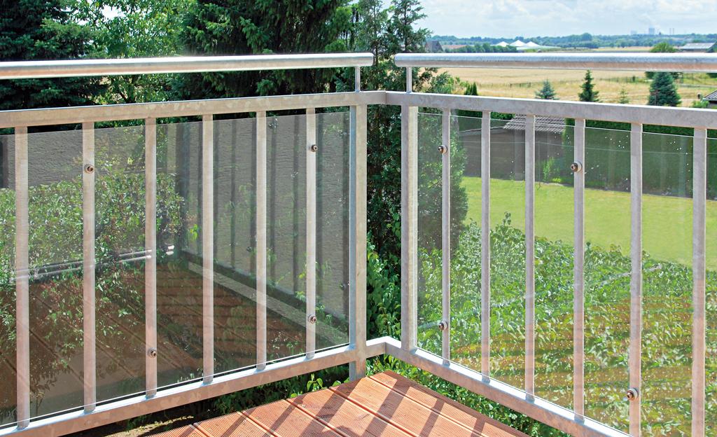 Windschutz für den Balkon