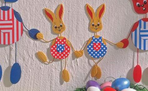 Ostern: Fensterbild basteln