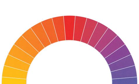 Komplementärfarben richtig kombinieren