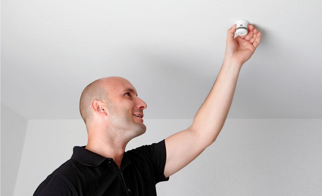 Mini-Rauchmelder schafft Sicherheit