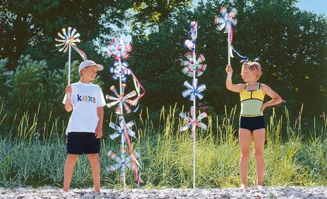 windspiele für den-garten selber basteln-ideen dekoration | diy, Garten ideen
