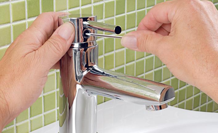 Wasserhahn reparieren