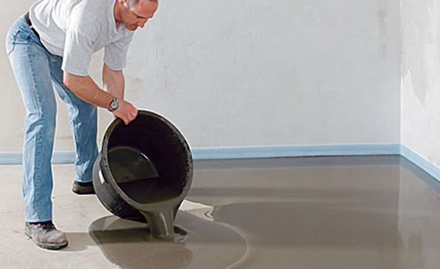 Fußboden Aus Kunststoff ~ Ausgleichen von unebenheiten selbst