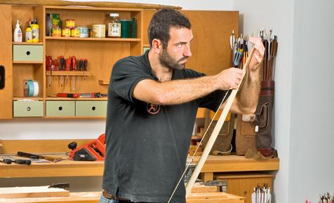 Sport-Bogen bauen