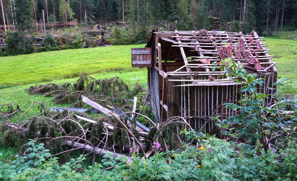 Sturmsicheres Gartenhaus