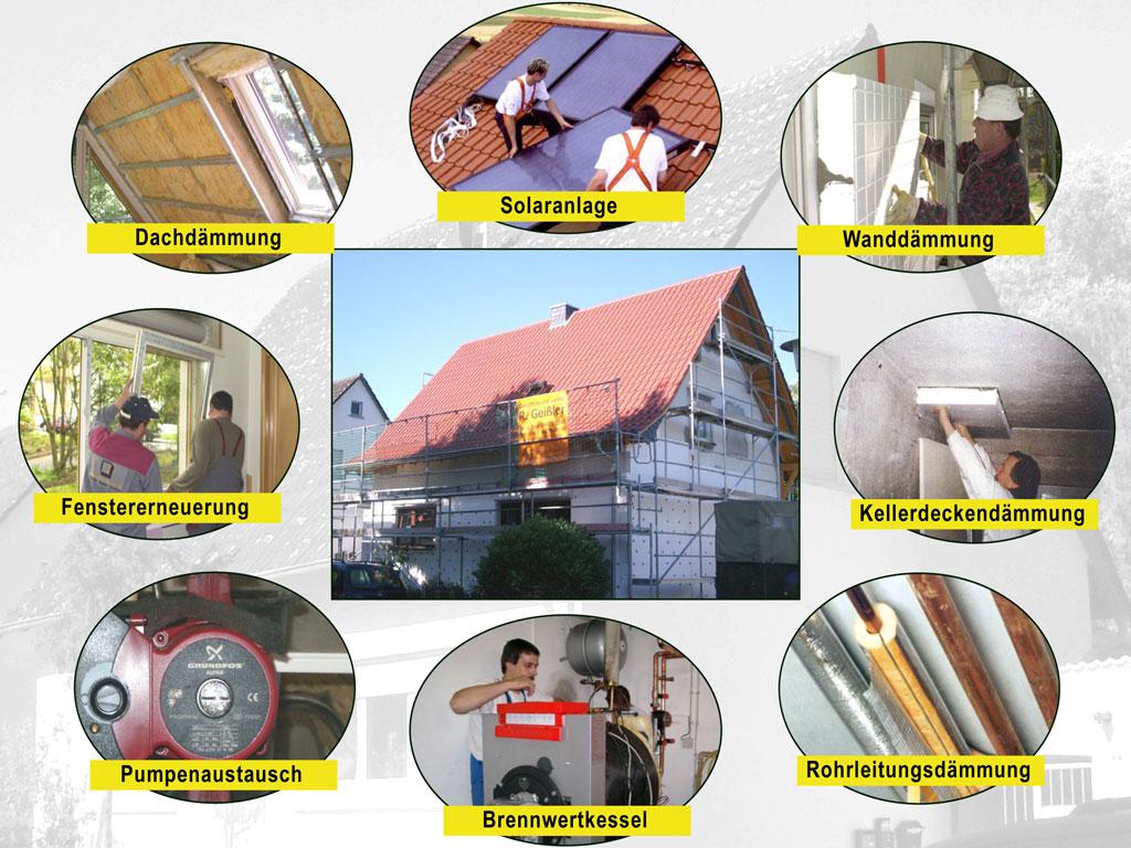 Haus sanieren