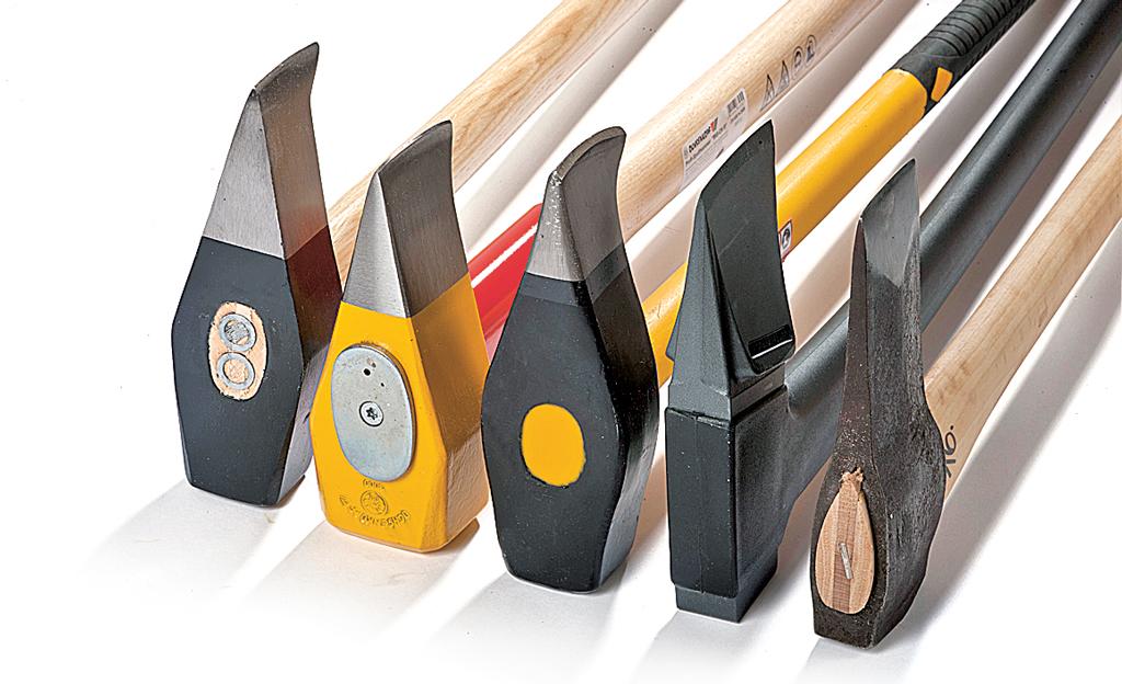 Holz spalten: Axt, Beil, Spaltaxt