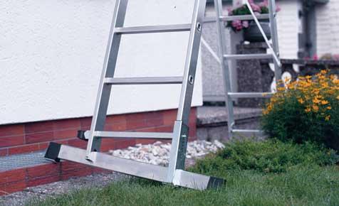 Leiter-Kunde: Anstellwinkel & Kippsicherung