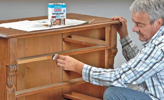 selbst ist die Frau: Möbel restaurieren