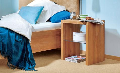 nachttisch aus buchenholz selbst bauen einrichten mobiliar. Black Bedroom Furniture Sets. Home Design Ideas