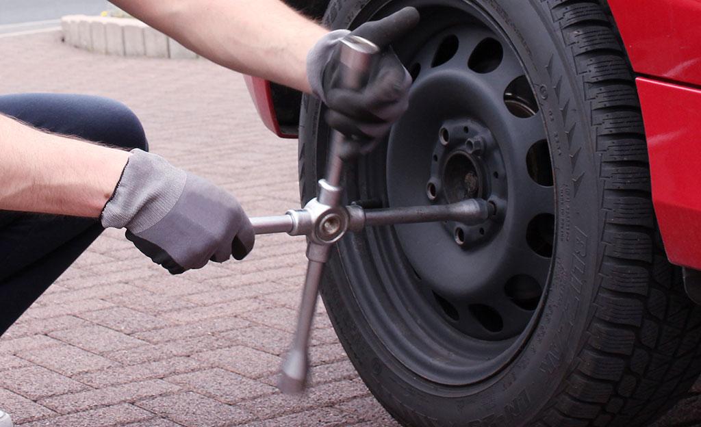 Radwechsel: Reifen wechseln