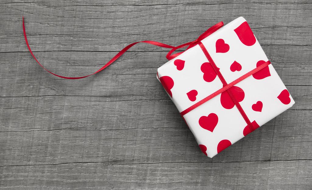 Valentinstag-Geschenk
