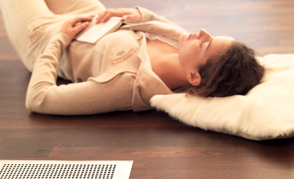 Wohnraumlüftung mit Wärmerückgewinnung