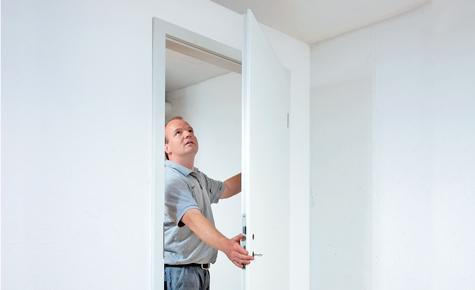 Zimmertür ersetzen