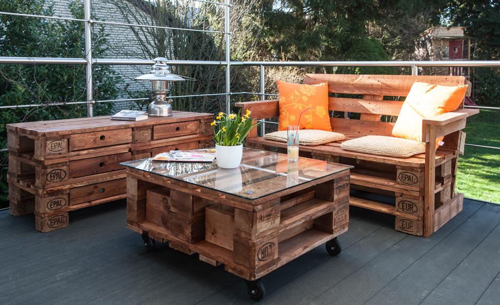 Palettenmöbel bauen   Gartenmöbel   selbst.de
