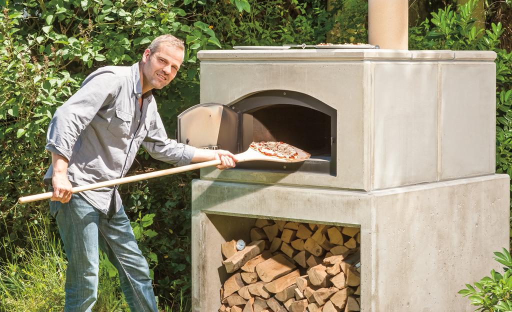 Steinbackofen bauen
