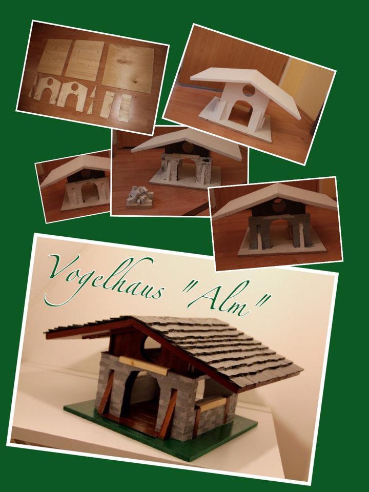 """Vogelhaus """"Alm"""""""