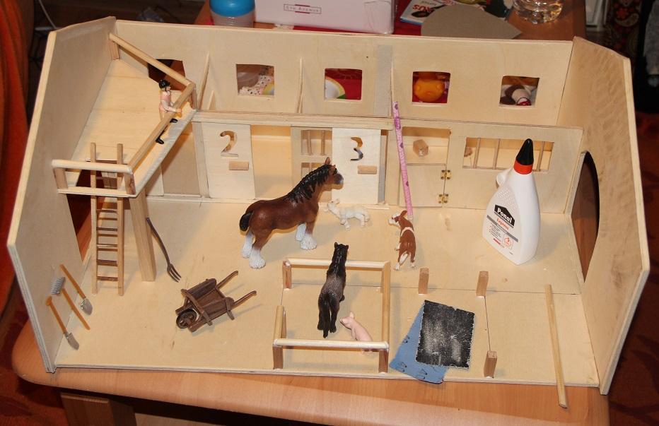 Probestellen der Tiere