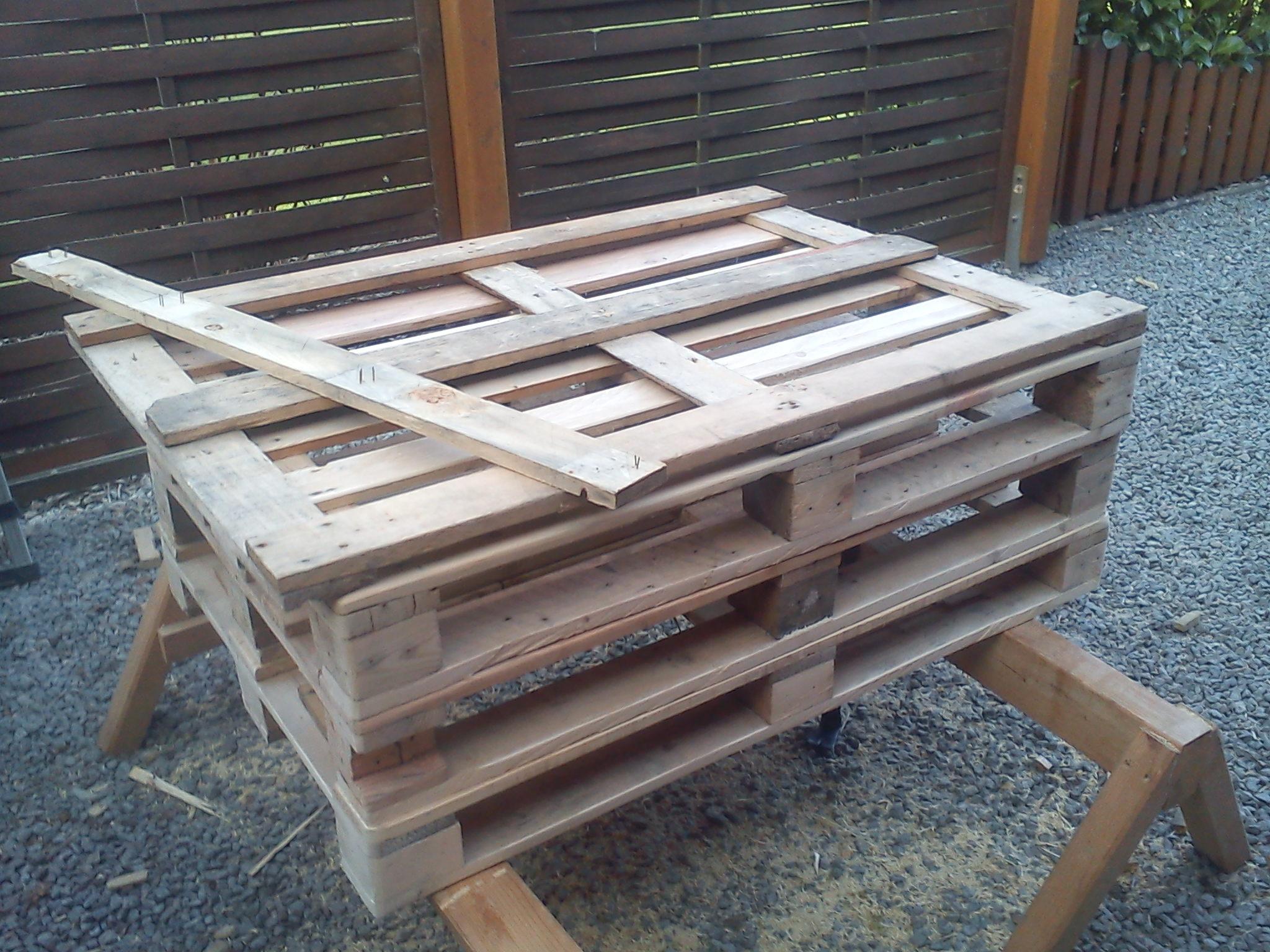 Bau des Sessels