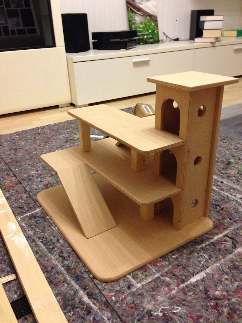 parkhaus aus holz f r kinder userprojekte. Black Bedroom Furniture Sets. Home Design Ideas