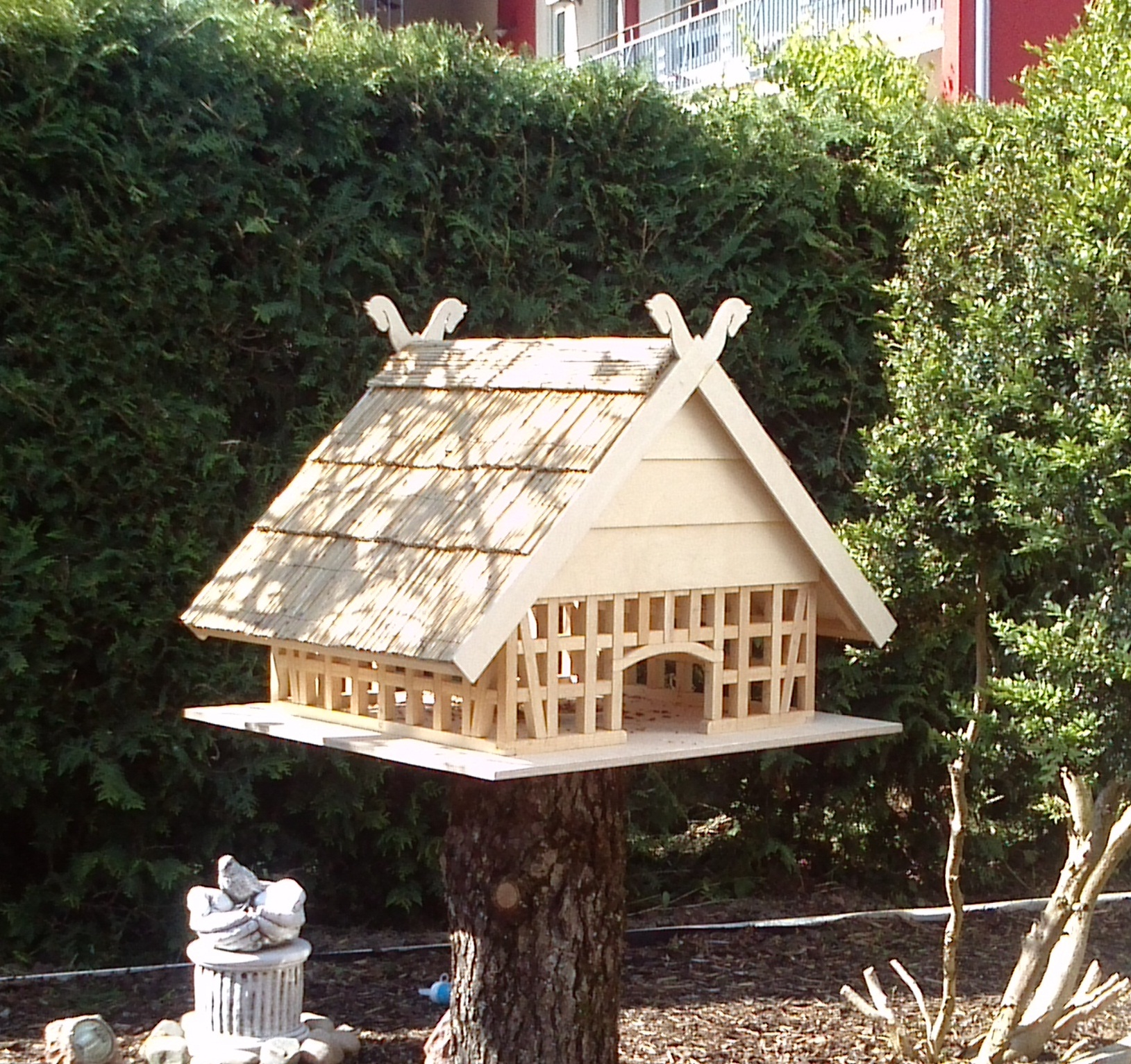Fachwerk Vogelhaus