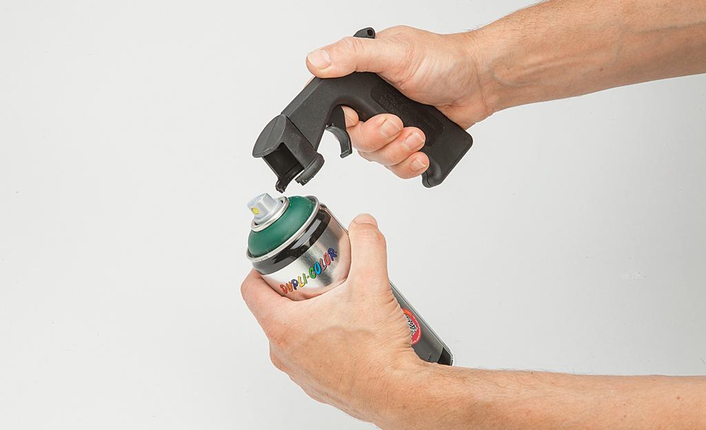 Spraydosen-Griff